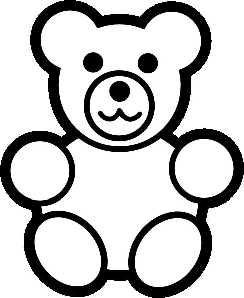 486x593 Teddy Bear Clip Art