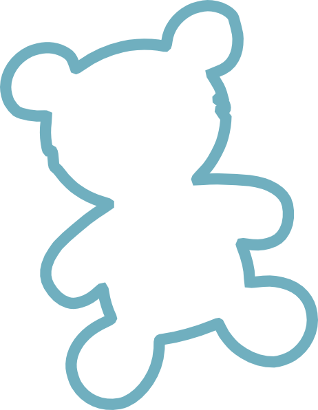 462x596 Teddy Bear Outline Outline Outlines, Teddy Bear