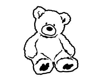 340x270 Teddy Bear Svg Etsy