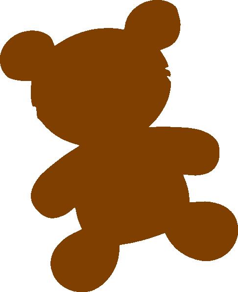 486x595 Brown Bear Clip Art