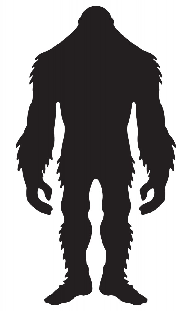 625x1000 A Silhouette Of Bigfoot Bigfoot