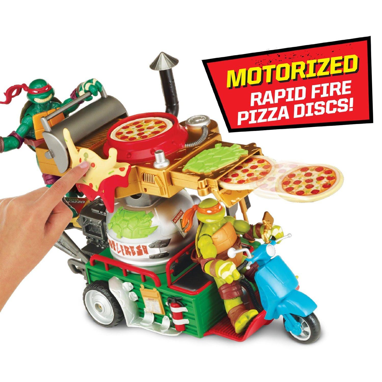 1500x1500 Pizza Thrower Punishing Pizza Pummeler Vehicle Teenage Mutant