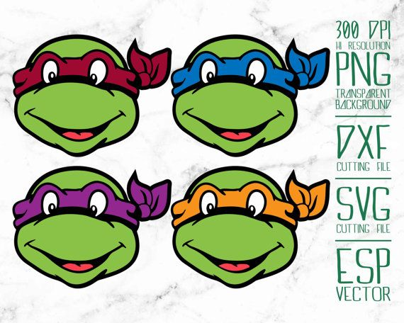 570x456 Teenage Mutant Ninja Turtles 1 Clipart Png By Just1dollar On Etsy