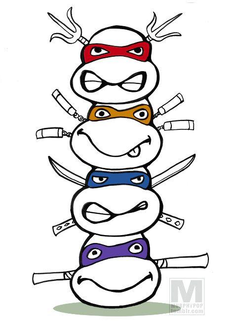 472x650 Teenage Mutant Ninja Turtles Totem Tristan's New Bday Party Lol