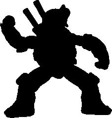 226x238 Leonardo Silhouette Silhouette Of Leonardo