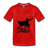 190x190 Zorro The Chronicles Silhouette With Whip By Zorro Spreadshirt