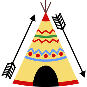 teepee silhouette at getdrawings com free for personal use teepee rh getdrawings com watercolor teepee clip art indian teepee clipart