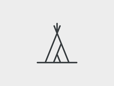 400x300 Teepee Icon By Kirrie Rodgers