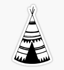 210x230 Teepee Stickers Redbubble