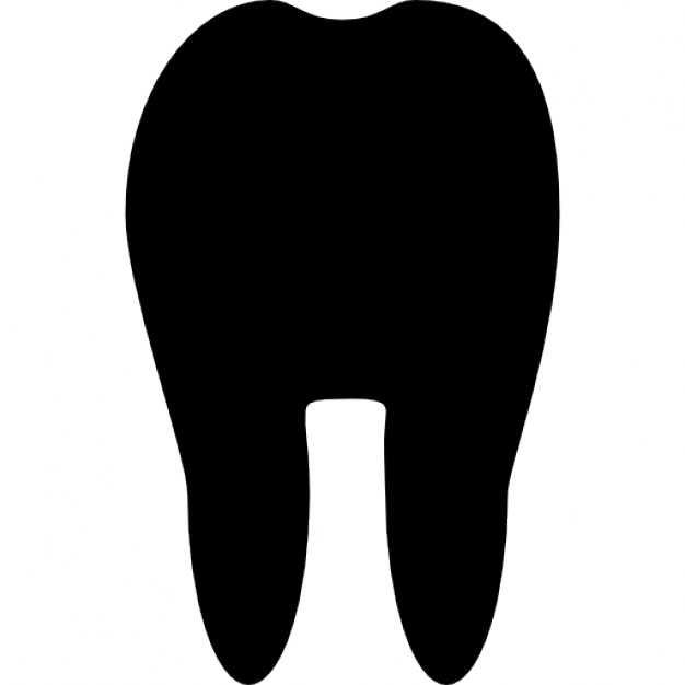 626x626 Tooth Silhouette Icons Free Download