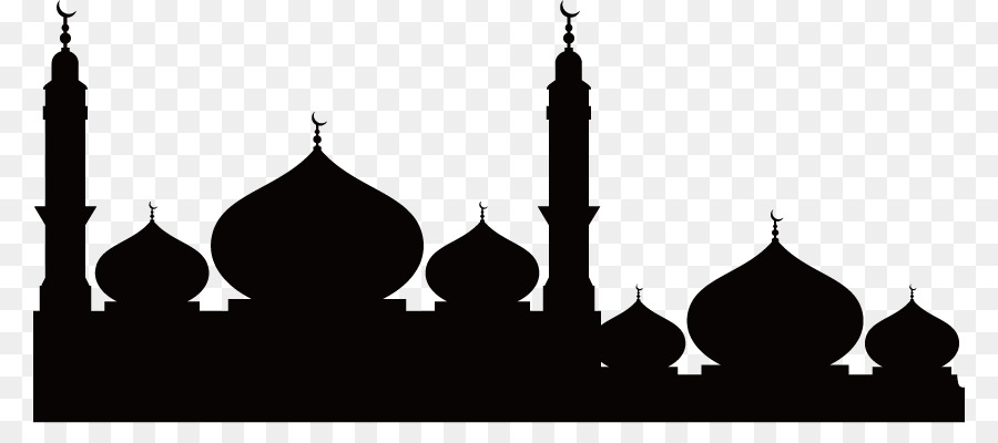 900x400 Temple Mosque Silhouette