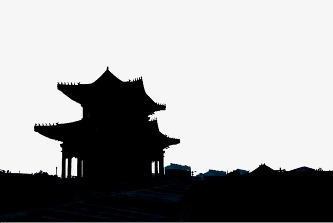 650x435 Jokhang Temple Silhouette, Jokhang Temple, Architecture, Temple