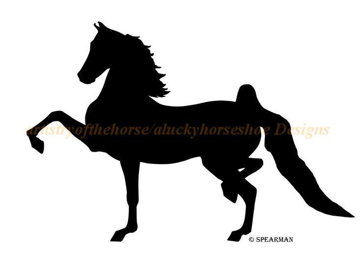 Tennessee Walking Horse Silhouette