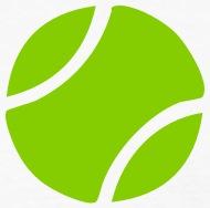 190x188 Tennis Ball Silhouette