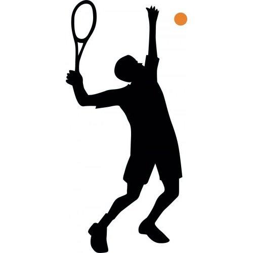 500x500 Free Female Tennis Silhouette Clipart