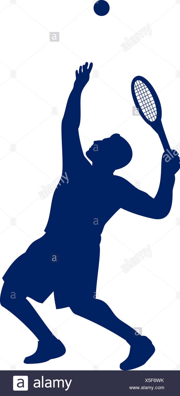 631x1390 Tennis Player Serving Silhouette Stock Photo 278773871