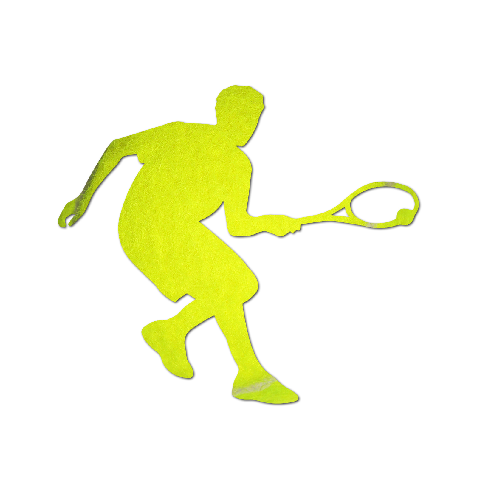 1600x1600 Tennis Player Silhouette Color Vinyl Sports Car Laptop Sticker