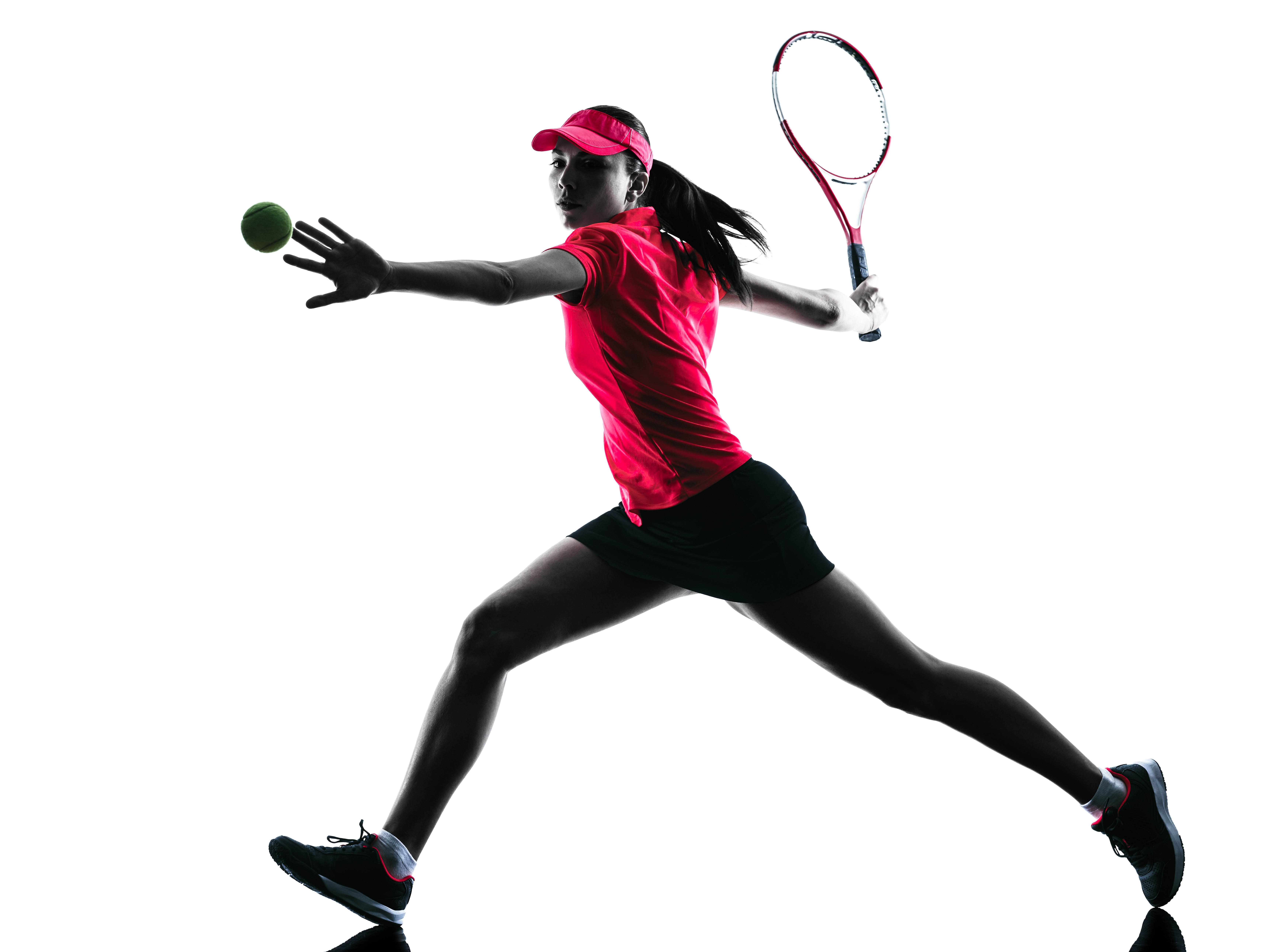 6894x5165 Woman Tennis Player Sadness Silhouette The Tennis And Fitness Centre