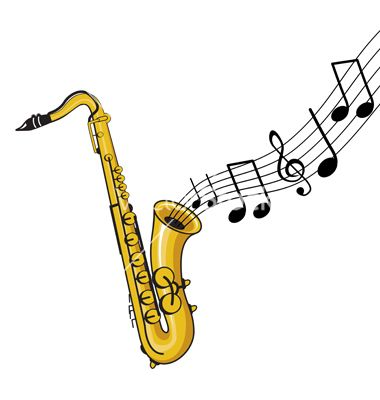 380x400 Saxophone And Notes Sopro Saxophones And Tattoo