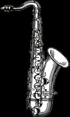 240x400 De Para La Saxophones, Digi Stamps