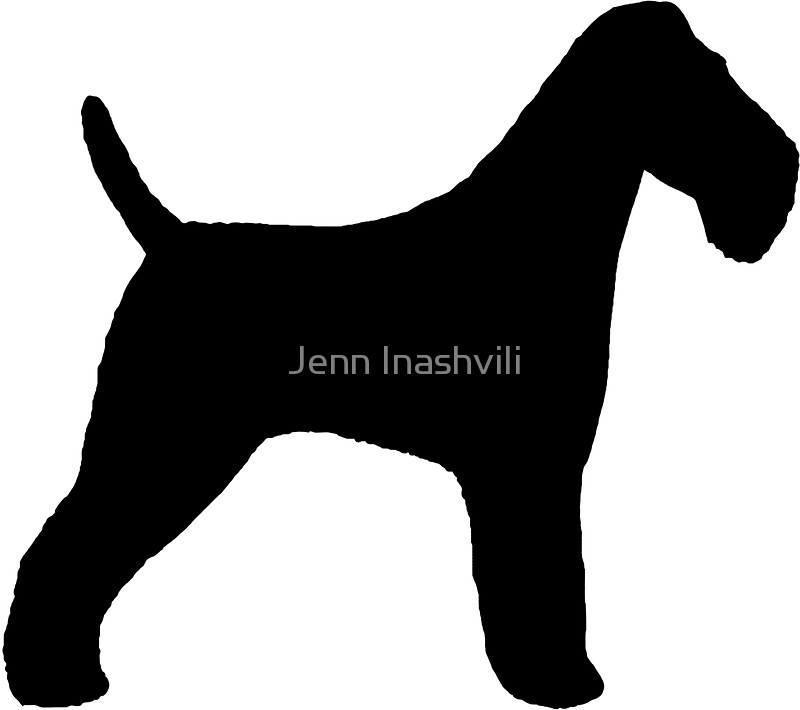 800x710 Wire Fox Terrier Silhouette(S) Stickers By Jenn Inashvili Redbubble