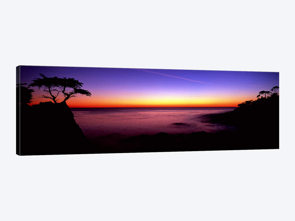 1000x750 Silhouette Of Lone Cypress Tree On A Cliff17 Mile Drive, Pebbl