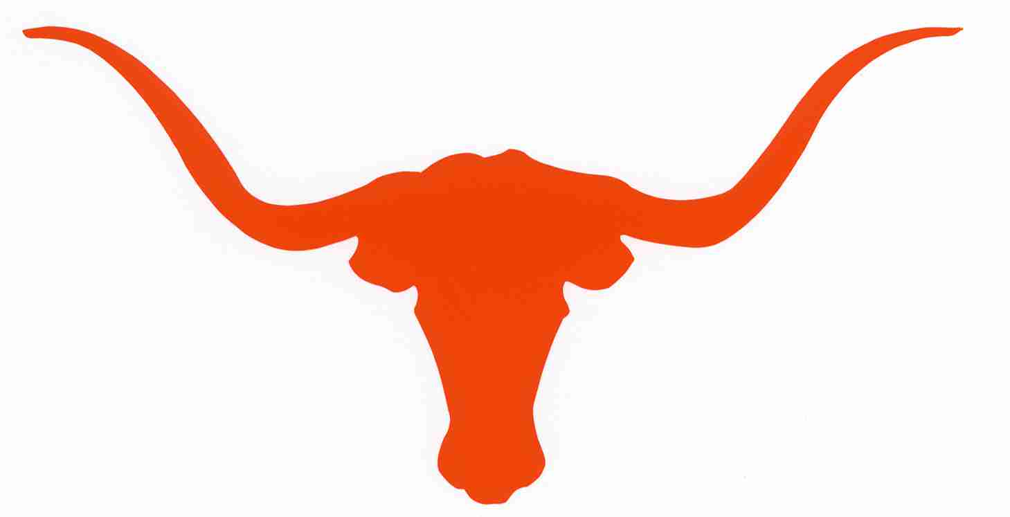 texas longhorn silhouette at getdrawings com free for personal use rh getdrawings com texas longhorn football logo clipart
