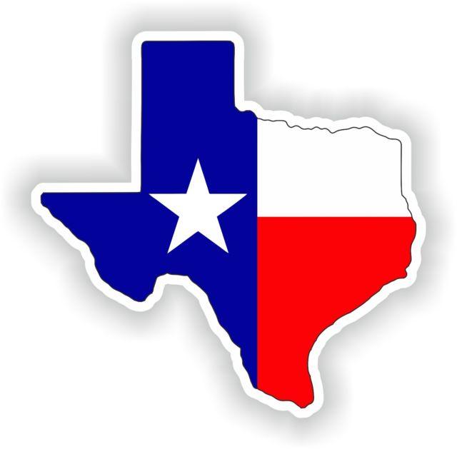 Texas Map Silhouette