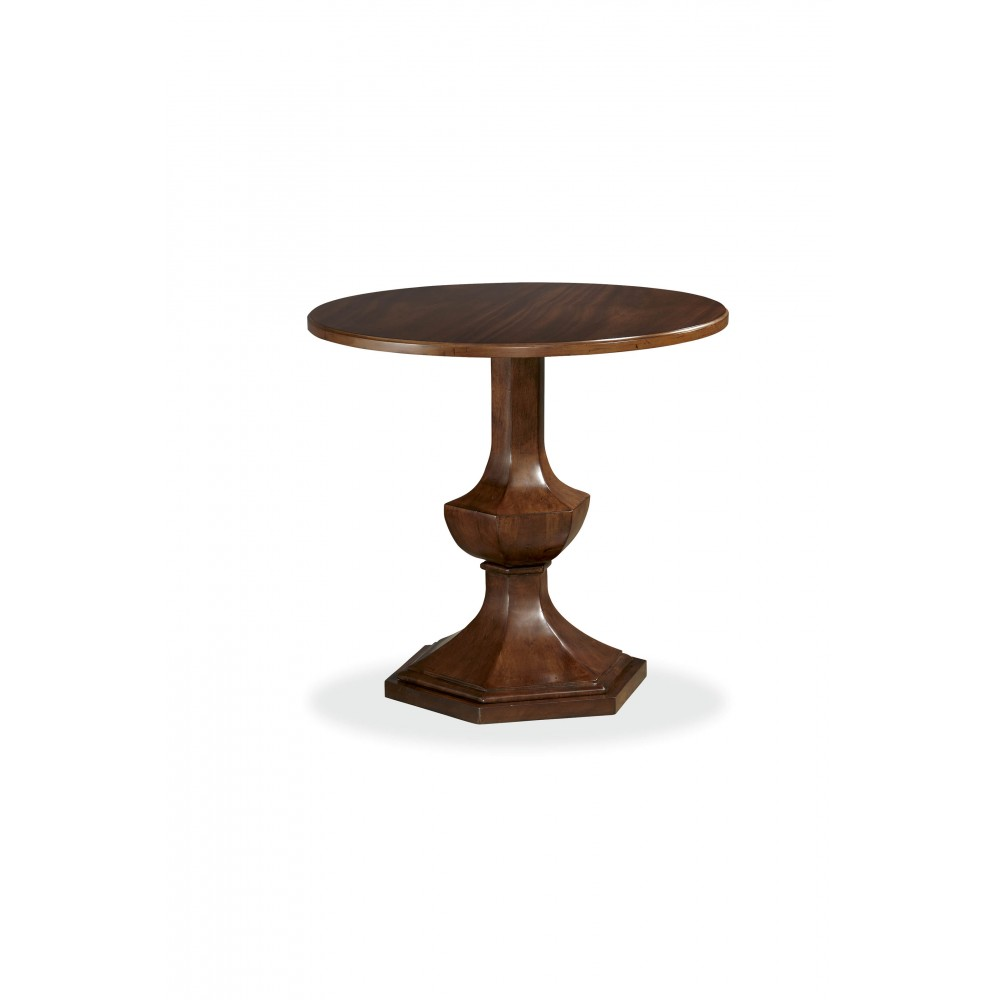1000x1000 Silhouette Round End Table By Universal Furniture