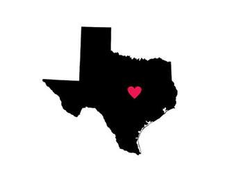 340x270 Texas Clipart Texas Heart Clipart