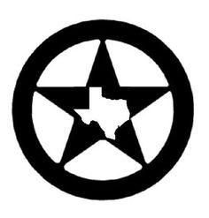 236x247 Western Silhouette Clip Art Free Texas Star Clip Art