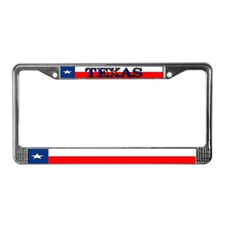 460x460 Texas License Plate Frames