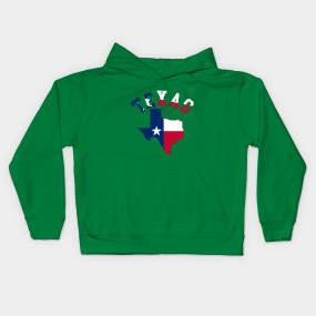 285x285 Texas State Silhouette Design Art Flag Patriotic