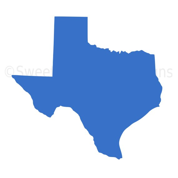 570x570 Texas Outline Svg Instant Download Design For Cricut Or Silhouette