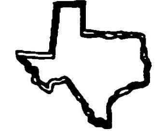 340x270 Western Silhouette Clip Art Free Texas Star Clip Art Vector