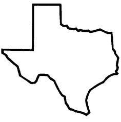 236x238 Texas Silhouette Fun Things Silhouettes, Texas