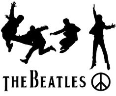 the beatles silhouette at getdrawings com free for personal use
