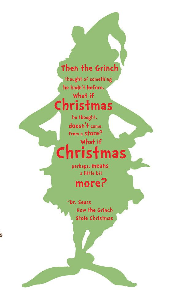 570x984 The Grinch Quote Vinyl Wall Art Decal By Tannerscreekdesigns