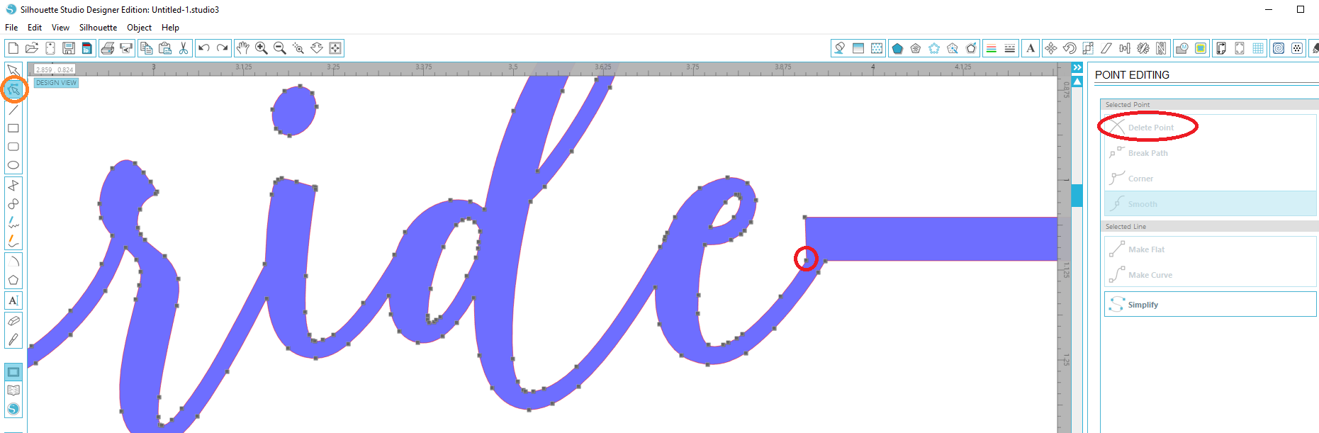 1861x611 How To Weld A Word To An Object In Silhouette Studio Cut That Design