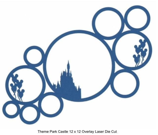 640x548 Disney Circle Layout Disney Scrapbooking Layouts