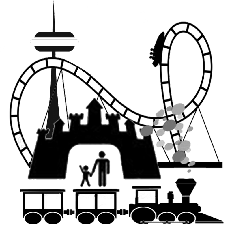 theme park silhouette at getdrawings com free for personal use rh getdrawings com