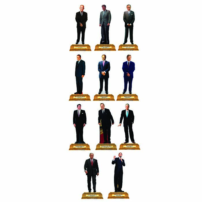 700x700 Presidential Standees, Presidential Cardboard Cut Outs