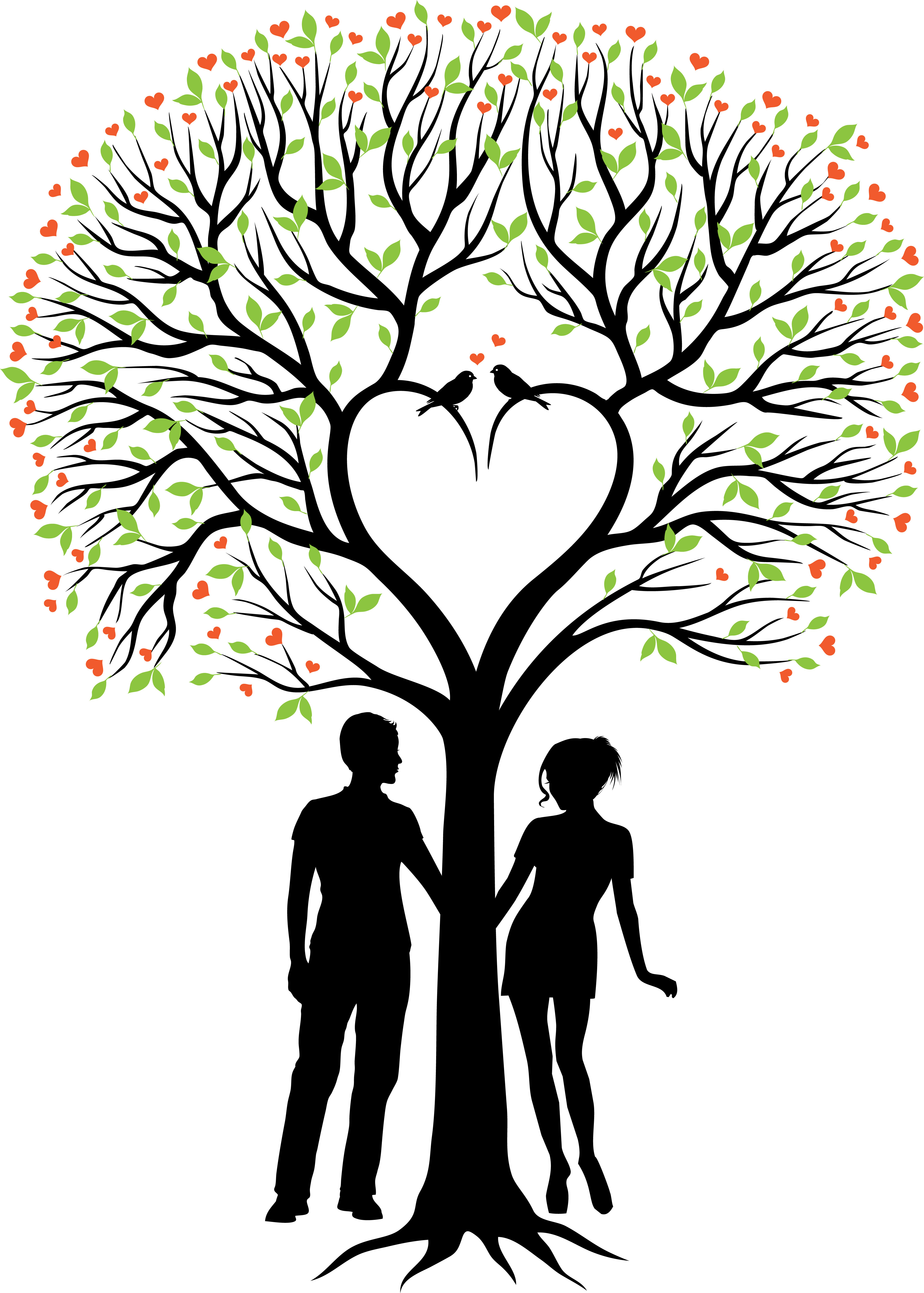 4000x5601 Couples Therapy Clipart