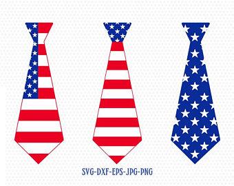 340x270 Patriotic Tie Etsy