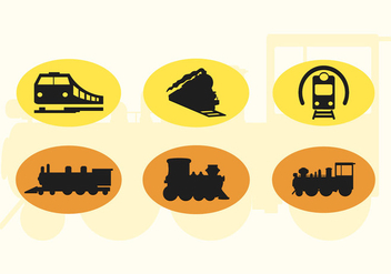 352x247 Vector Train Silhouette Free Vector Download 274071 Cannypic