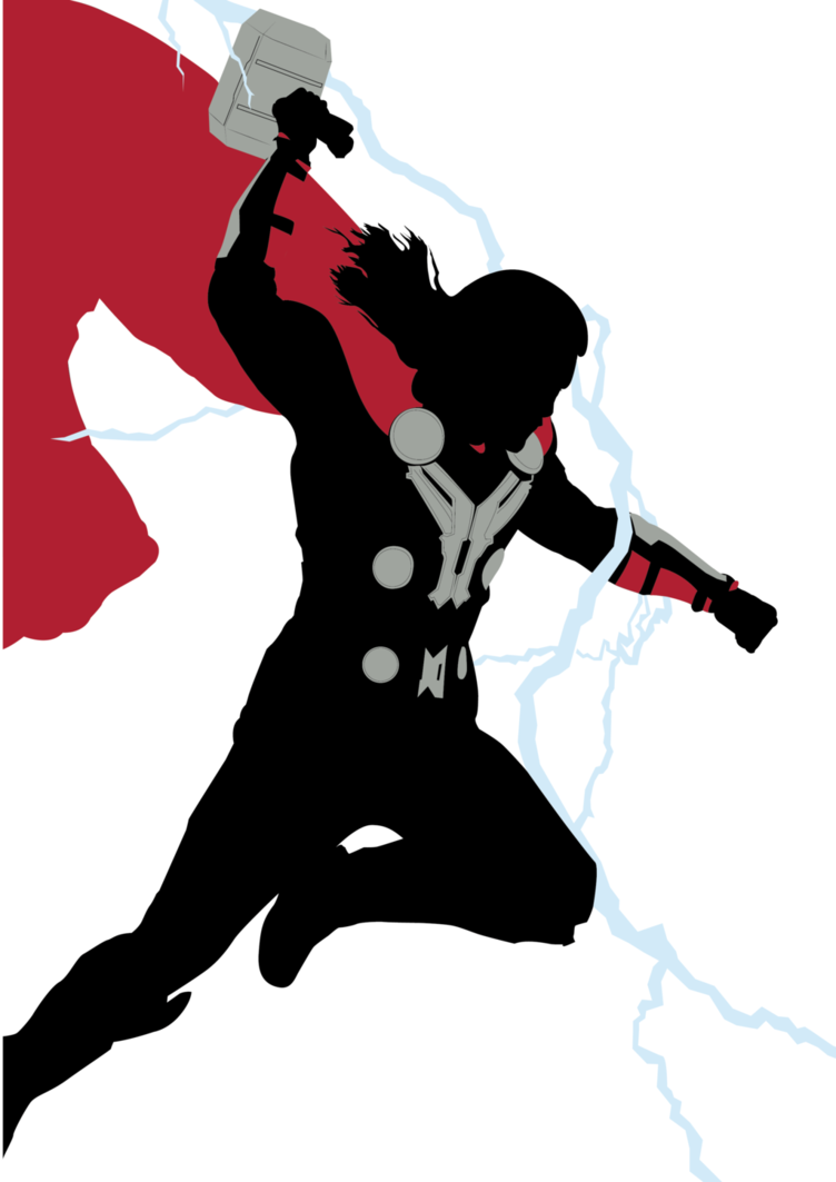 thor silhouette at getdrawings com free for personal use band clipart logos bank clipart images