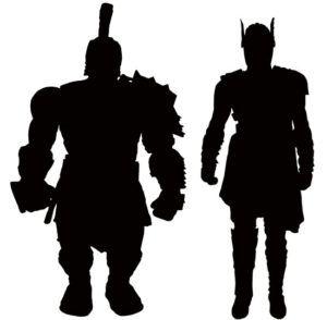 300x294 Thor Ragnarok Marvel Select Figures Silhouettes Teaser Diamond