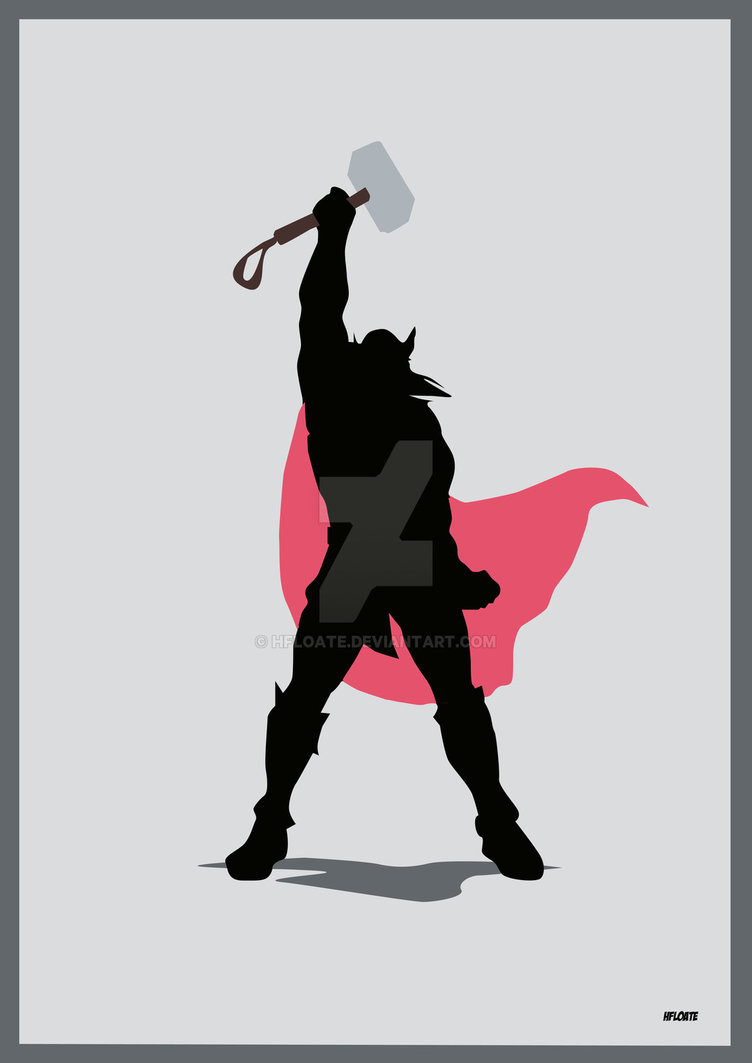 752x1063 Thor By Hfloate