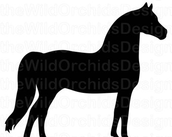 340x270 Equine Design Thoroughbred Silhouette