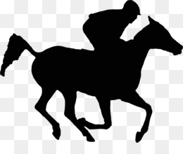 260x220 Free Download Arabian Horse Thoroughbred Horse Racing Silhouette